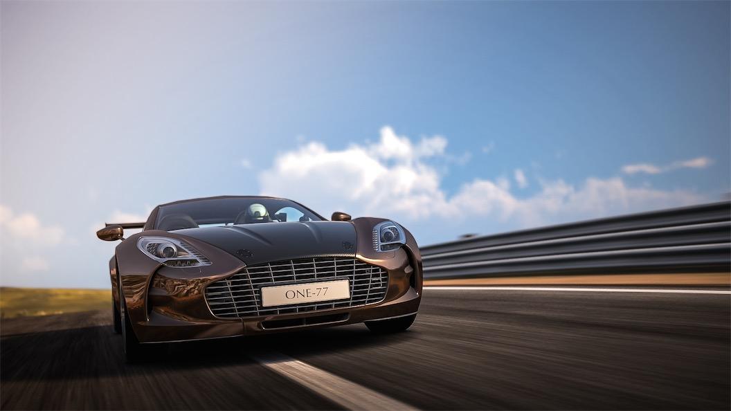 Aston Martin One 77 Team Shmo