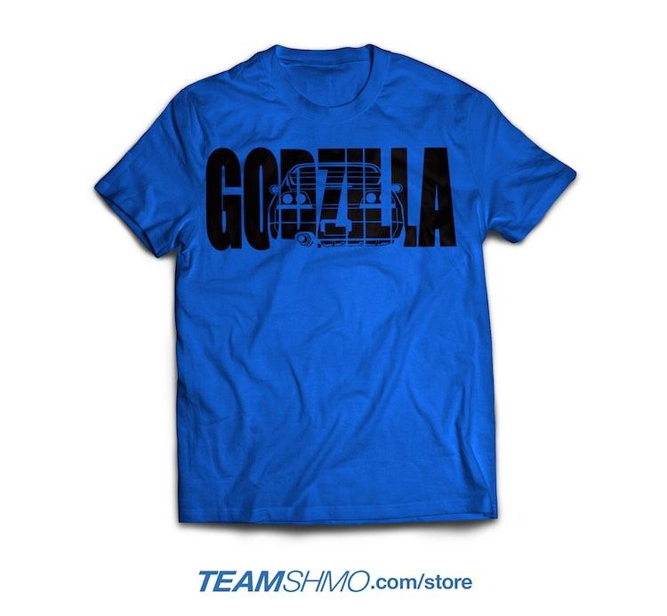 Godzilla Nissan Skyline R33 shirt