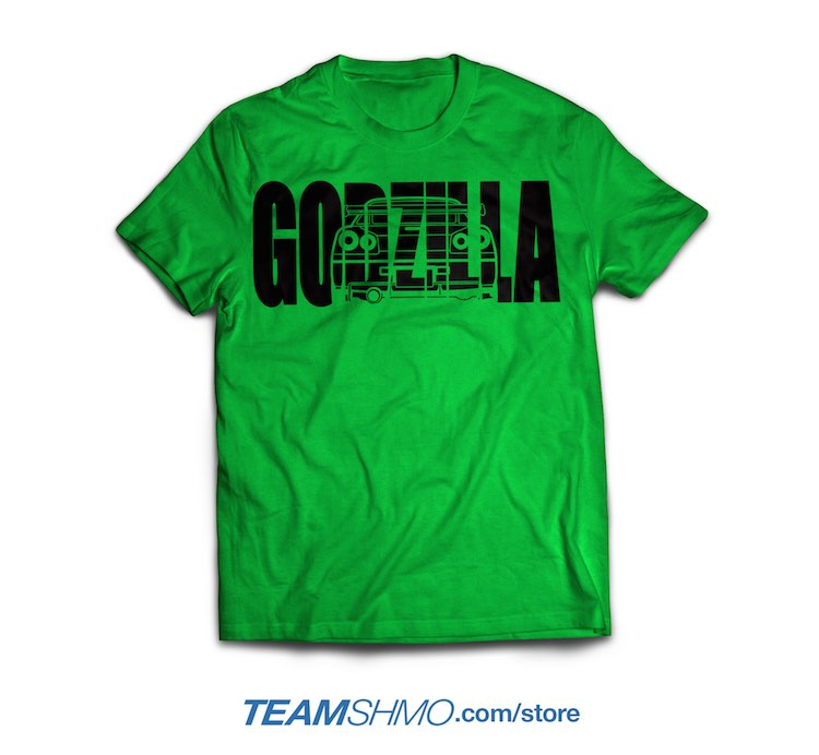 Godzilla Nissan Skyline R34 shirt