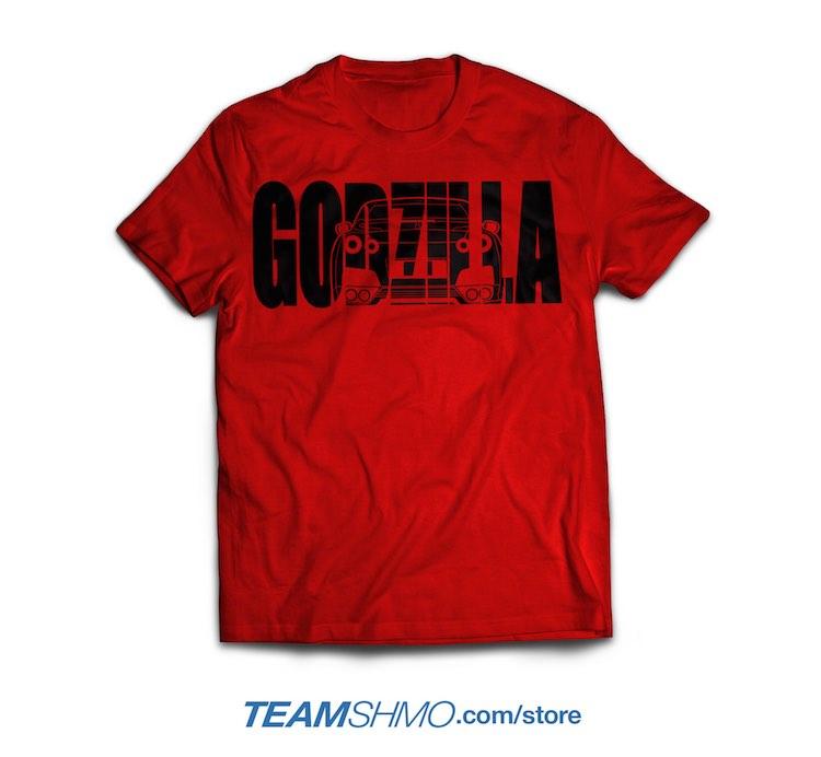 Godzilla Nissan Skyline GTR R35 shirt