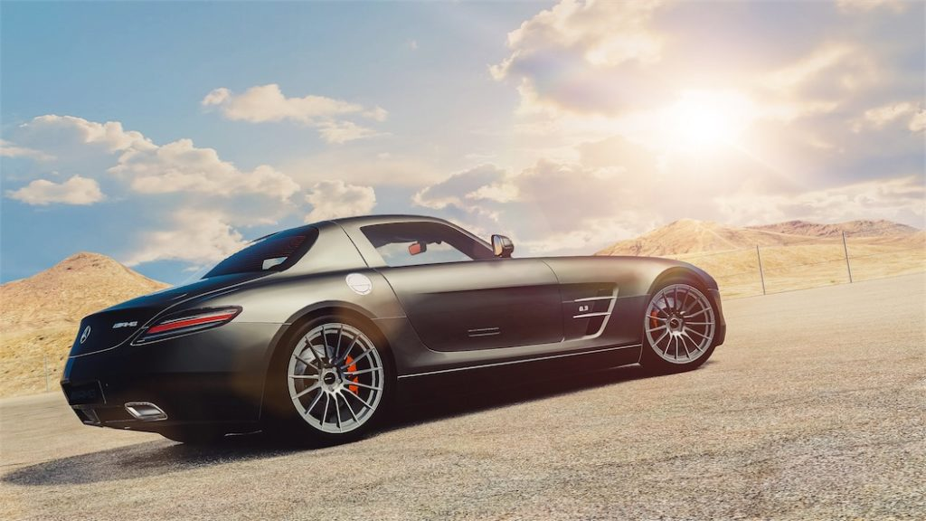 Mercedes-Benz SLS AMG '10-small