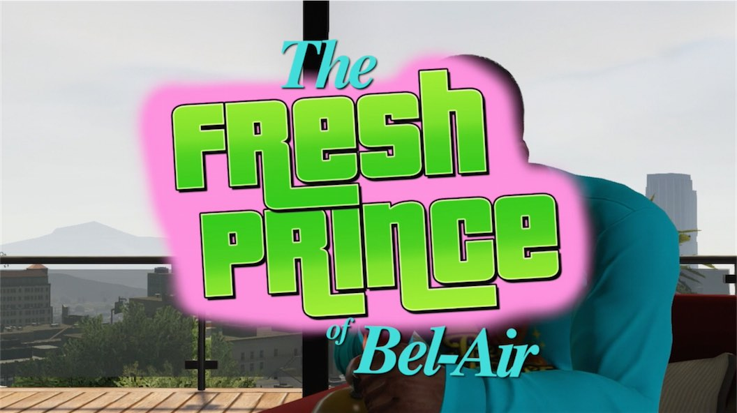 GTA 5 Fresh Prince Of Bel Air Parody