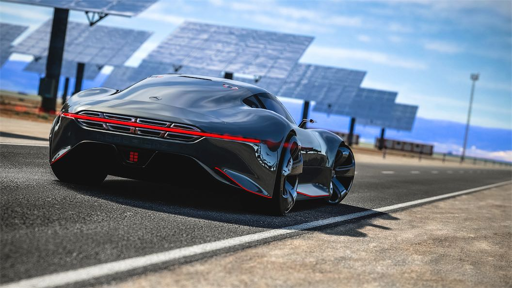 Mercedes benz amg vision gran turismo top speed team shmo for Mercedes benz amg vision