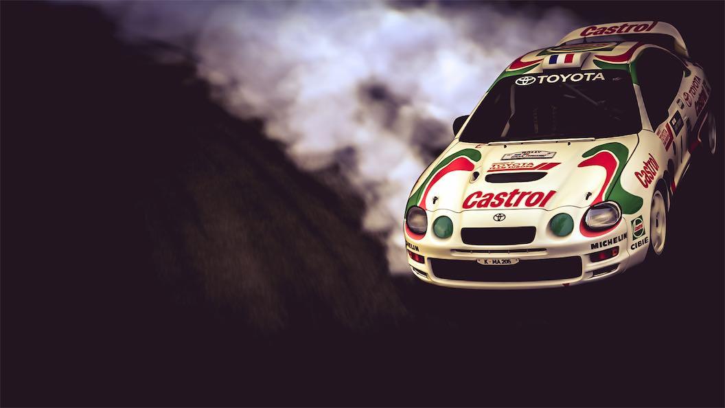 Toyota CELICA GT-FOUR Rally Car (ST205) \'95 - Team Shmo