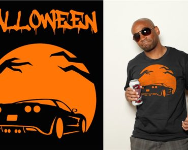Corvette Pumpkin Shirt