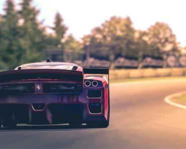 Ferrari FXX drag tune