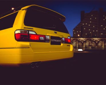 Nissan STAGEA 25t RS FOUR S '98 drag