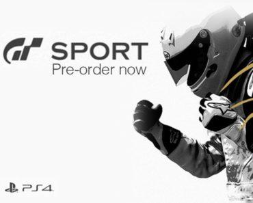 Gran Turismo Sport pre-order