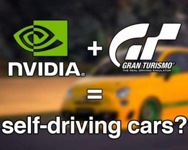 nvidia and gran turismo self-driving cars