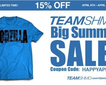 team shmo summer sale ad