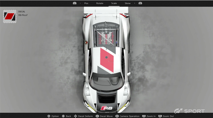 gt sport livery 2