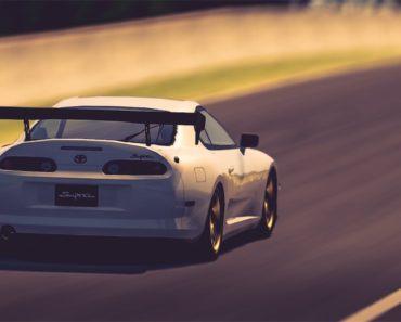 Toyota SUPRA RZ '97 race