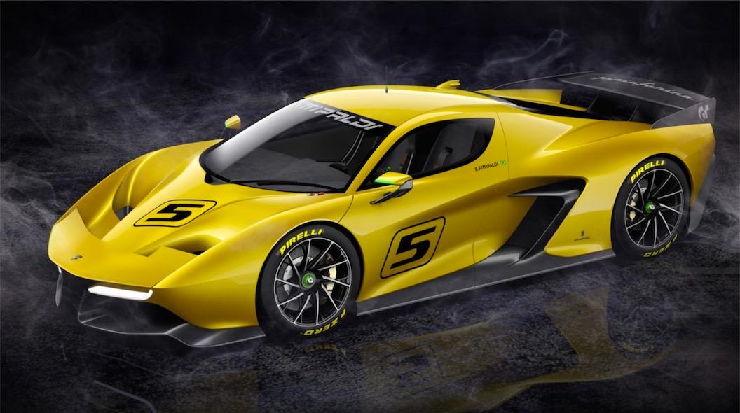 Pininfarina Fittipaldi Ef7 Vision Gran Turismo Revealed Team Shmo