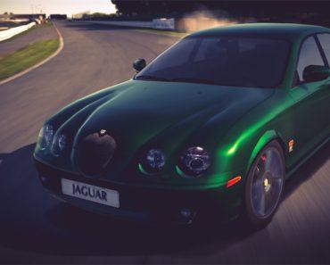Jaguar S-TYPE R '02