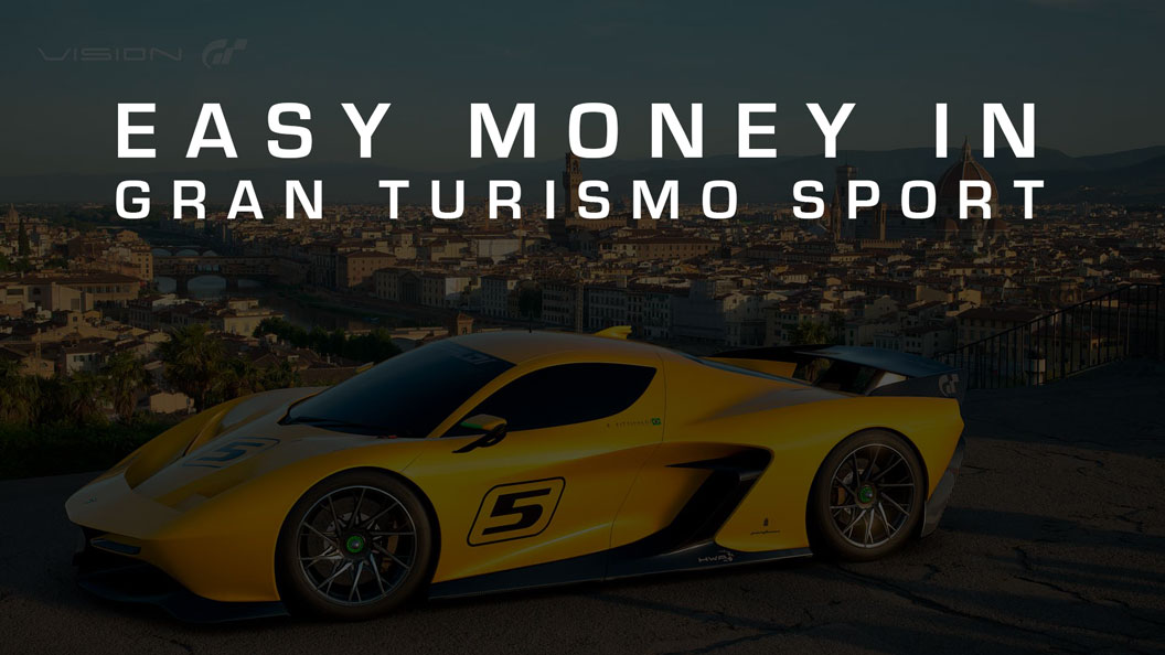 Easy Money In Gran Turismo Sport Team Shmo