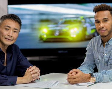 kaz and lewis hamilton playing gt sport